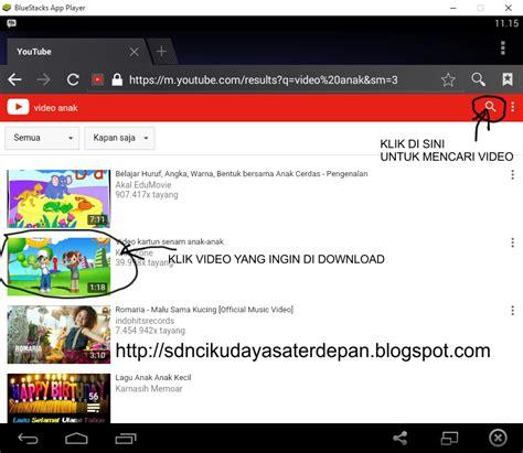 download youtube menggunakan ss sdn cikudayasa cara mudah download youtube dengan