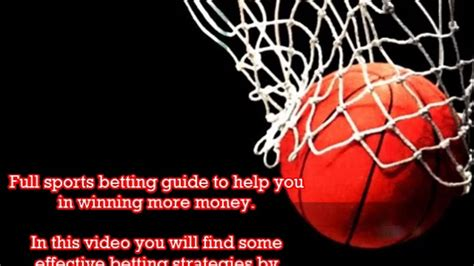 How To Make Money Online Sports Betting - how to make money using sports betting strategies