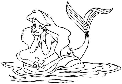 coloring pages free ariel printable ariel coloring pages coloring me