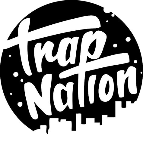 Cool House Clocks Quot Trap Nation Logo Quot Stickers By Gh0sti Redbubble