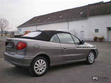 2002 Renault Megane Cabriolet 1 6 Expression Air Car