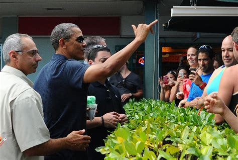 obama hawaii obama visits favorite shave ice shop before a private new