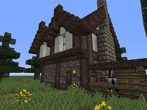 Minecraft Small Home Design Small House Design Minecraft Project