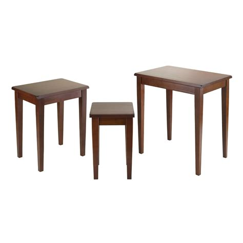 table ls amazon amazon com winsome wood nesting table walnut kitchen