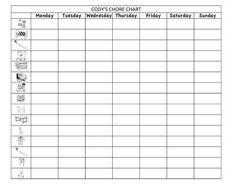 chart template excel chore chart template excel calendar templates