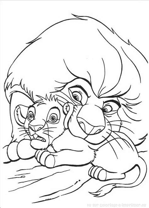 S 233 Lection De Dessins De Coloriage Le Roi Lion 224 Imprimer The King 2 Coloring Pages