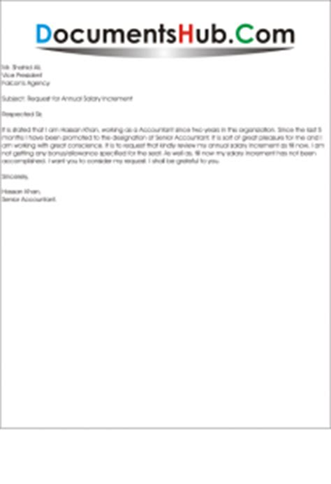 Invoice Revision Letter Application For Salary Revision