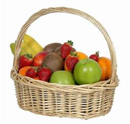 fruit basket basket of fresh fruit beautiful flowers florist upper hutt
