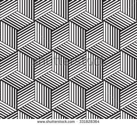 27081067 vector seamless pattern modern stylish 3d texture vector seamless pattern modern monochrome texture stock