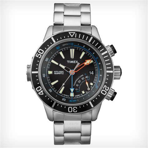 oceanictime timex intelligent quartz depth