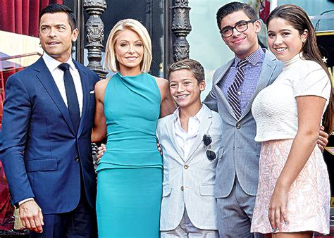 pictures of kelly ripas children kelly ripa net worth husband salary age wiki