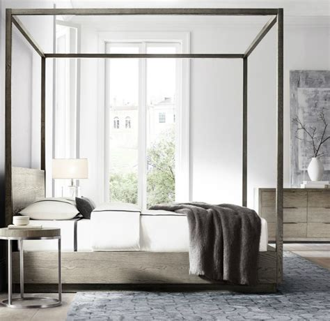 Contemporary Canopy Bed High End Beds For A Winter S Nap