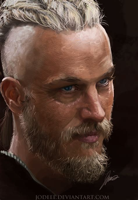 ragnar hair style professional ragnar lothbrok speed painting by jodeee on deviantart