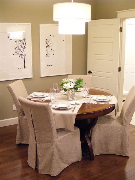 Dining Room Slipcover Chairs Slipcovers For Dining Room Chairs That Embellish Your Usual Dining Chairs Homesfeed