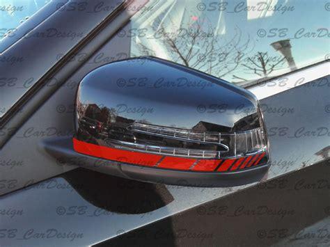 Mercedes Motorsport Aufkleber by Au 223 Enspiegel Aufkleber Streifen Stripes F Mercedes Benz