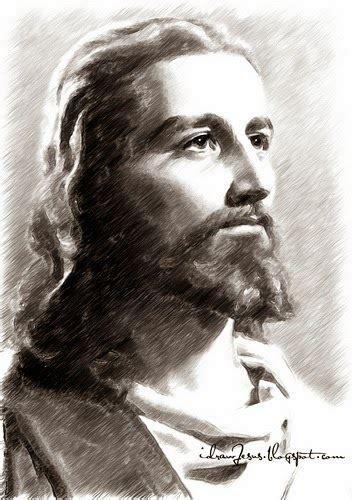 Drawing Jesus by Jesus Jesus Sketch