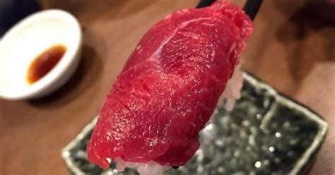Sho Kuda Di Pasar Baru tren baru sushi daging kuda di jepang meski liat tapi