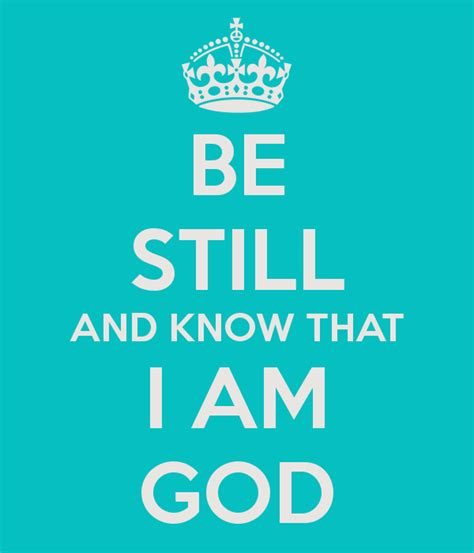 be still and know that i am god tattoo be still walking in the light