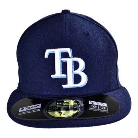 new era ta bay rays mlb 59fifty fitted baseball