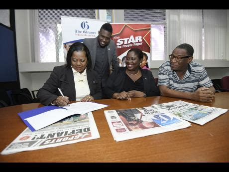 gleaner careers section the gleaner where the rspl unfolds major deal signed