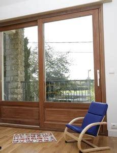 baie vitrée coulissante 1652 baie vitr 195 169 e coulissante bois lapeyre