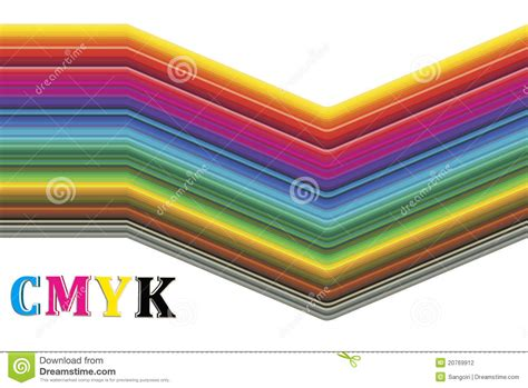 cmyk spectrum cmyk color spectrum stock photography image 20769912
