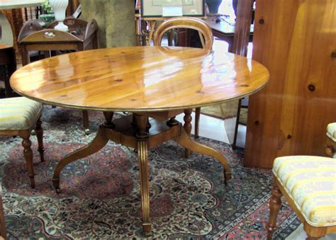 Antique Dining Room Tables For Sale 8191 Baker Dining Room Table With Two Leaves For Sale Antiques Classifieds