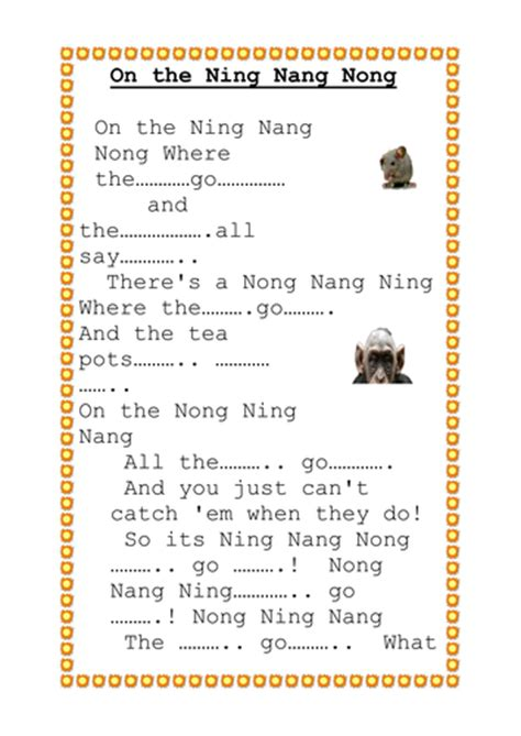 on the ning nang nong poem by spike milligan poem hunter spike milligan ning nang nong by bowborough teaching
