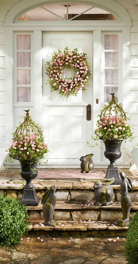25 best ideas about outdoor easter decorations on