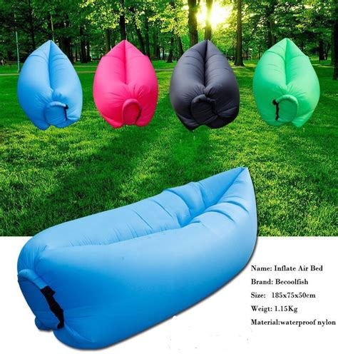 inflatable sofa lounge buy portable self inflatable couch lazy sofa bed 6 colours