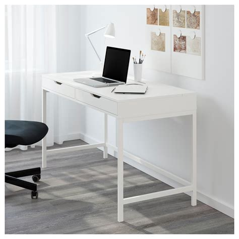 Small White Computer Desk Ikea Alex Desk White 131x60 Cm Ikea