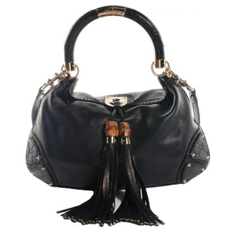 Gucci Positano Medium Top Handle Bag In Black by Gucci Leather Medium Indy Top Handle Bag Black 58807