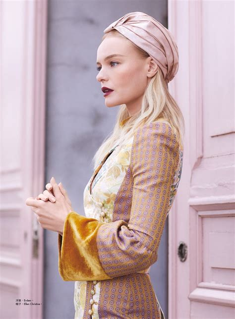 Kate Bosworth Poses For Vogue Us by Kate Bosworth Poses In Looks For S Bazaar