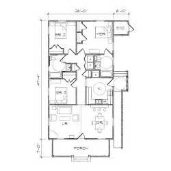 haywood ii accessible bungalow floor plan tightlines designs