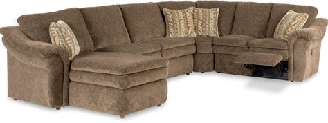 recliner sofa with chaise 5 power reclining sectional with ras chaise and 2