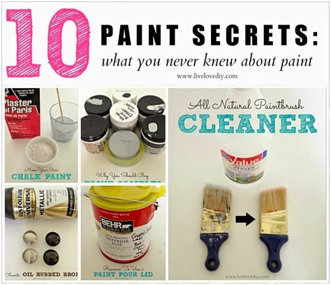 10 Unique Tips You Never Knew by 10 Painting Tips Tricks You Never Knew Diy Craft Projects
