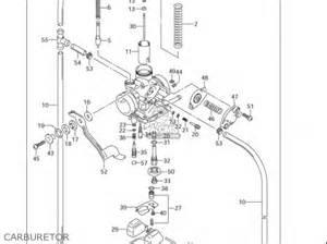 Suzuki Drz 125 Carburetor Suzuki Dr Z125 L Usa Parts List Partsmanual Partsfiche