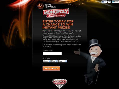 Monopoly Millionaire Sweepstakes - monopoly millionaire promotion
