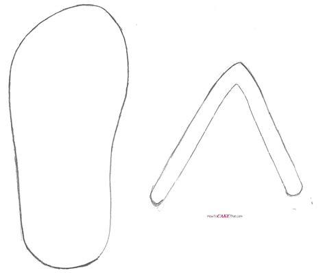flip flop drawing  getdrawingscom   personal
