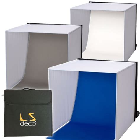 ls deco 撮影ボックス60 撮影ブース ロールタイプ3バリエーション背景付き エレクトロニクス アイテム詳細