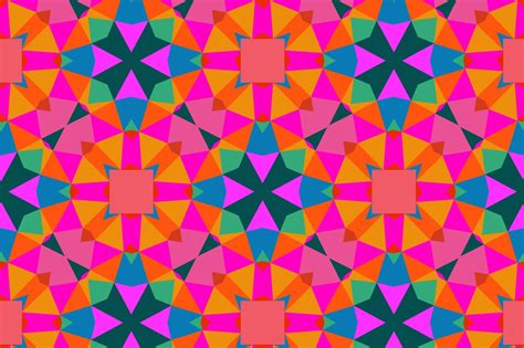 pattern color geometric pattern in bright color patterns creative market
