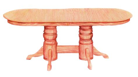 Pedestal Table Dimensions Pedestal Table Ohio Hardwood Furniture