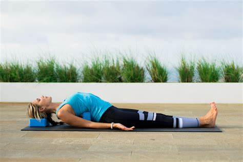 Reclining Butterfly Pose by 5 Yin Poses To Help You Unwind The Jawbone