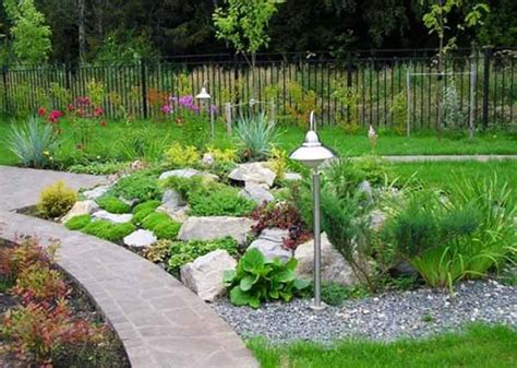 small backyard rock gardens rock garden design tips 15 rocks garden landscape ideas