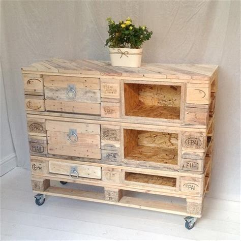 wooden pallet dressers with drawers pallet wood projects