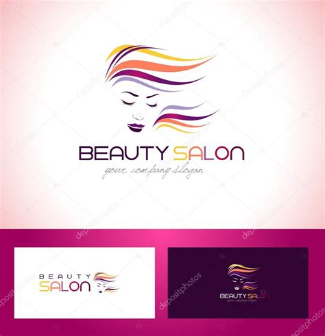 beauty layout vector beauty salon logo design stock vector 169 twindesigner