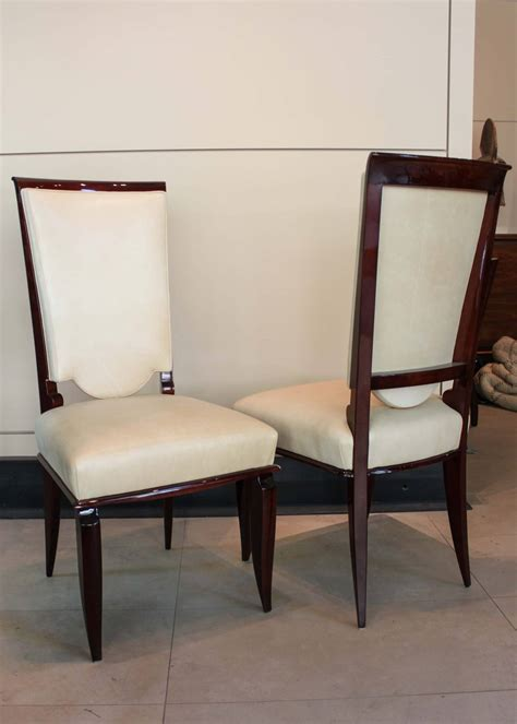 art deco dining room furniture set of six french art deco dining chairs for sale at 1stdibs