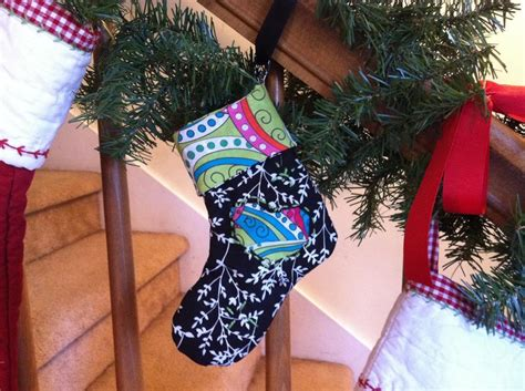 sewing pattern for mini christmas stocking free sewing pattern mini christmas stocking