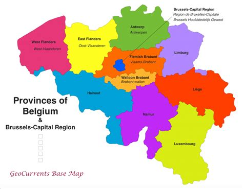 map of belgium regions cartography geocurrents
