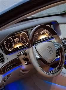 mercedes s class inside automobile
